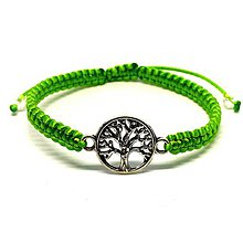 Náramky - Strom života (Zelená) - 9067228_