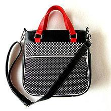 Veľké tašky - Big Sandy - Čierna bodkovaná - 9065710_