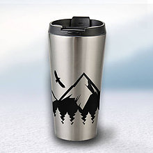 Nádoby - Nerezový termohrnček - 9064175_