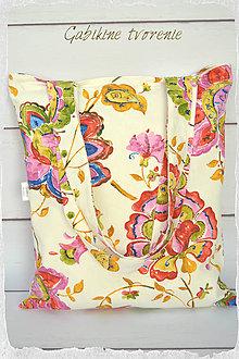Nákupné tašky - Nákupná taška farebná - 9067615_