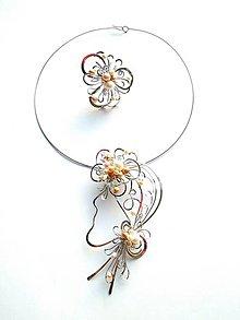 Sady šperkov - Brož 2v1