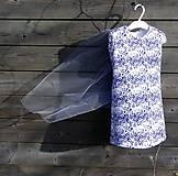 Šaty s vlečkou - folk