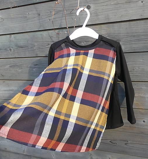 Tričko pre superhrdinu - káro