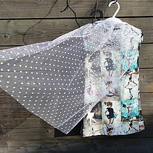 Detské oblečenie - Šaty s vlečkou - balerína (92) - 9064125_