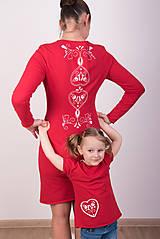 Šaty - Červené šaty - folk - 9068630_