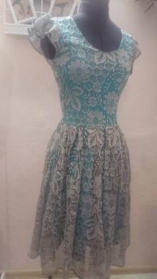 Šaty - Šaty z čipky donesenej z Thajska - 9066182_