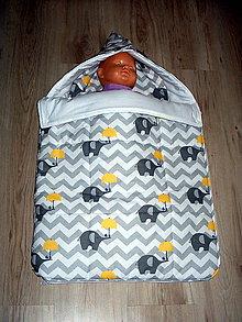Textil - spací vak - 9064743_