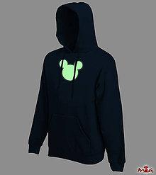 Oblečenie - Mickey - svietiaca mikina - 9065954_