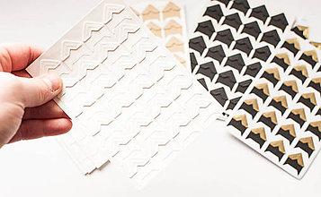 Papier - Foto-rohy samolepiace (Biela farba) - 9065890_