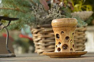 Svietidlá a sviečky - Aromalampa - cappuccino - 9064716_