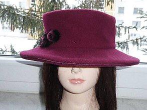 Čiapky - Dámsky zimný klobúk - 9067899_