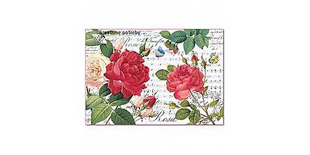 Papier - Ryžový papier Stamperia č.DFS397 - 48x33cm, ihneď - 9068340_