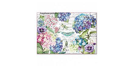 Papier - Ryžový papier Stamperia č.DFS398 - 48x33cm, ihneď - 9068348_