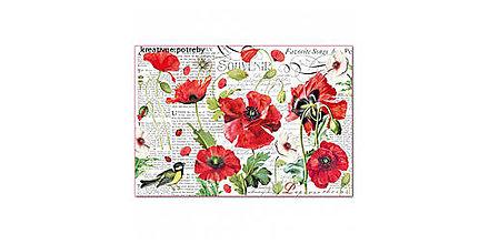 Papier - Ryžový papier Stamperia č.DFS408 - 48x33cm, ihneď - 9068421_
