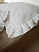 Úžitkový textil - Ľanové posteľné obliečky Temptation - 9068364_