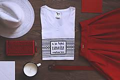 - A ja taká dzivočka (biele tričko) (M) - 9067323_