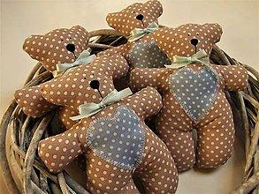 Darčeky pre svadobčanov - Macíky do ručičky - 9068188_