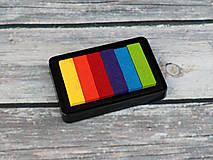 - Pečiatková poduška viacfarebná (Paleta odtieňov č.1) - 9070829_