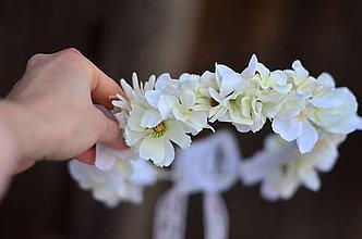Ozdoby do vlasov - V záhrade bielych kvetov... Prvé sväté prijímanie - 9072196_