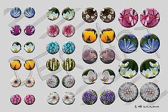 Materiál ručne robený - Motívy na šperky č. 46 - akcia 4+1 zdarma na všetky motívy - 9071524_