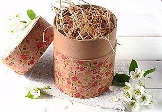 Drogéria - Darčekové balenie - tubus kvetinový (Darčekové balenie - tubus sakura) - 9069240_