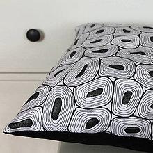 Úžitkový textil - Černobílá variace - 9072097_