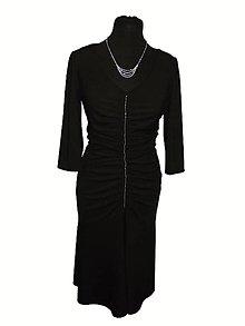 Šaty - šaty s riasením - 9069857_