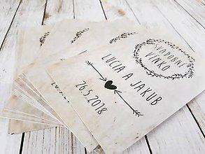 Darčeky pre svadobčanov - Etikety na vino - 9073375_