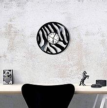 Hodiny - Hodiny zebra - 9073595_