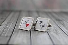 Šperky - I love my wife - 9073053_
