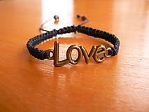 - Náramok LOVE - 9071933_