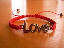 - Náramok LOVE - 9071996_