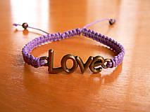- Náramok LOVE - 9072049_