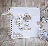 Papiernictvo - Svadobná kniha hostí  - 9070847_