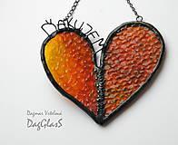 Dekorácie - dekorácia srdce -Ďakujem- - 9072026_