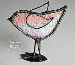 Dekorácie - dekorácia - vtáčik - 9072112_