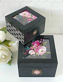 Krabičky - Blooming krabičky - 9071565_