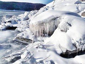 Fotografie - 5 x momentka z prírody (Ľadová sieň) - 9073704_