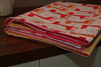 Textil - Detská prikrývka, deka - 9069436_