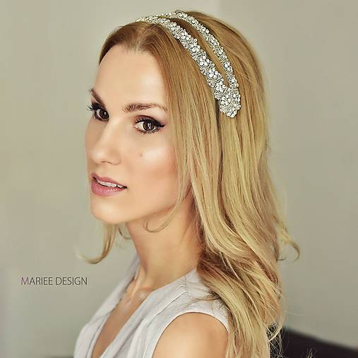 2f37999a322 Glamour krištáľová čelenka ORNELLA   MarieeDesign - SAShE.sk ...