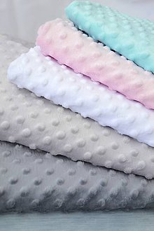 Textil - Minky deka 11 odtieňov - 100x75cm - 9069451_