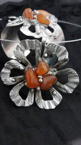 Sady šperkov - Karneol - darčekový set 18_01 - 9072456_