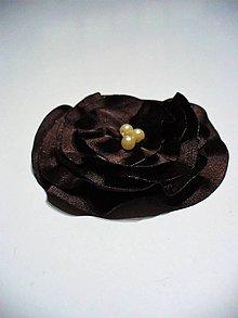 Brošne - dark chocolate - 9073149_