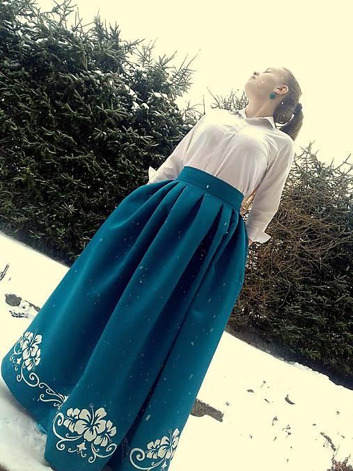 c50ef6672bda Plesová sukňa   FolkJarka - SAShE.sk - Handmade Sukne