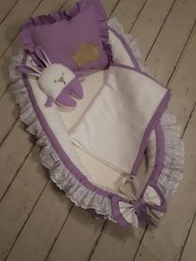 Textil - Volánové hniezdo  s doplnkami PRINCESS 2 - 9076065_