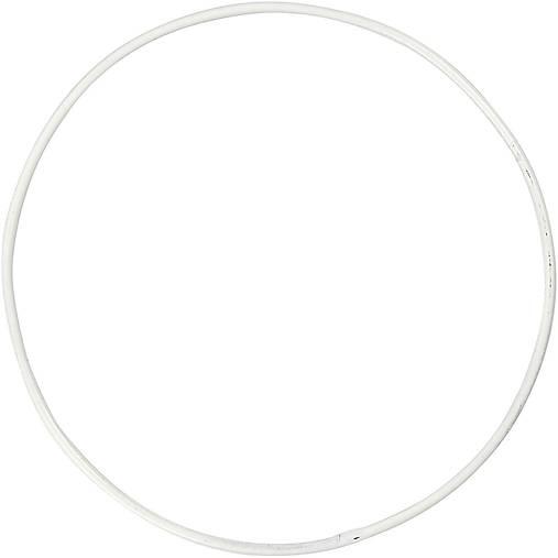 Drôtený kruh na Lapač snov hr. 2 mm Biela