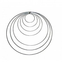 Iný materiál - Drôtený kruh na Lapač snov - 9076258_
