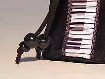 Peňaženky - M006 kožený meštek čierny s tmavozeleným odtieňom - 9076781_