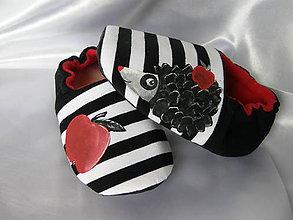 Topánočky - Detské papučky ježkové - 9075309_
