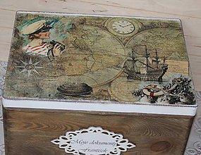 Nábytok - veľká krabica na želanie - 9074151_
